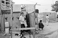 Afghan refugees of Patras